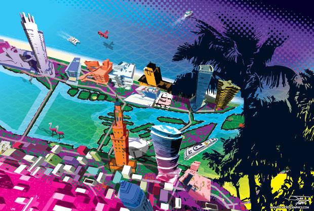 Art Basel Miami Illustration