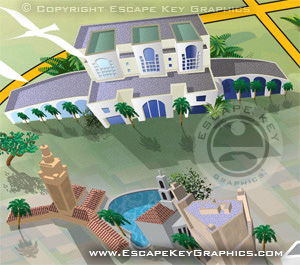 FIU South Florida Map - Coral Gables