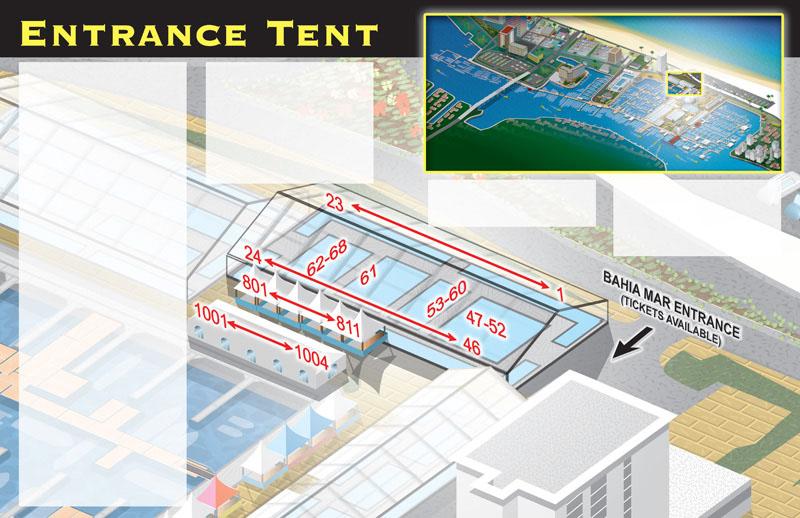 Entrance Tent Detail