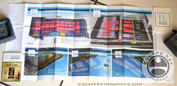 FLIBS 2015 folding map