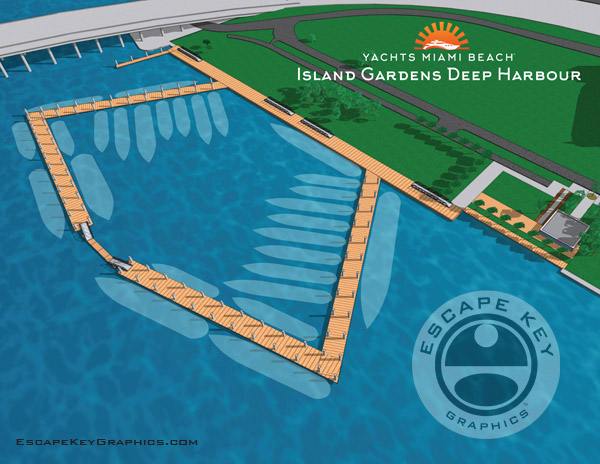 Island Gardens Deep Harbour Map