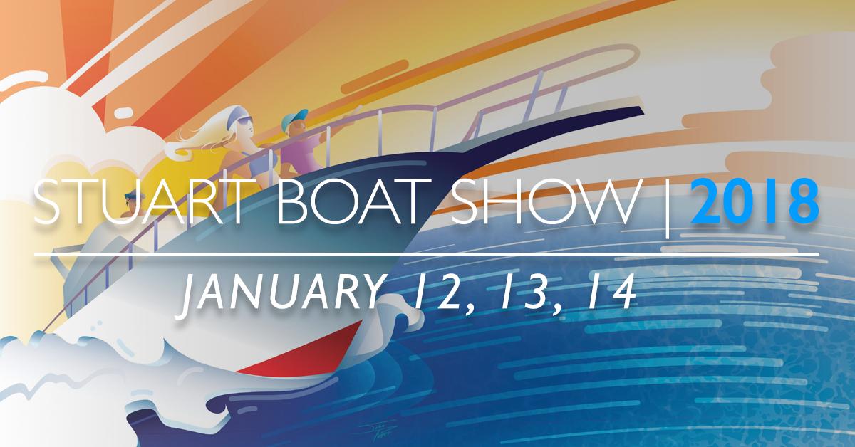 Stuart Boat Show map 2018