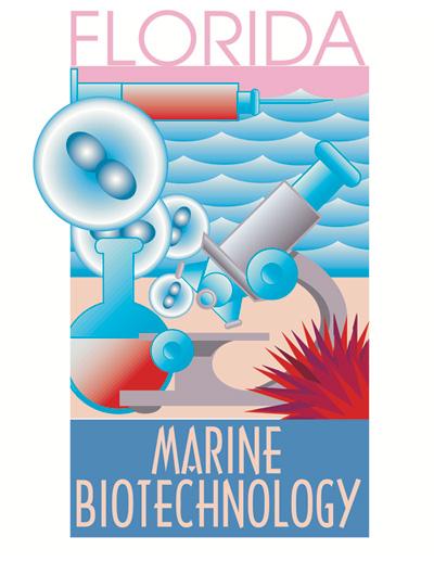 Marine Biotech book cover illustration