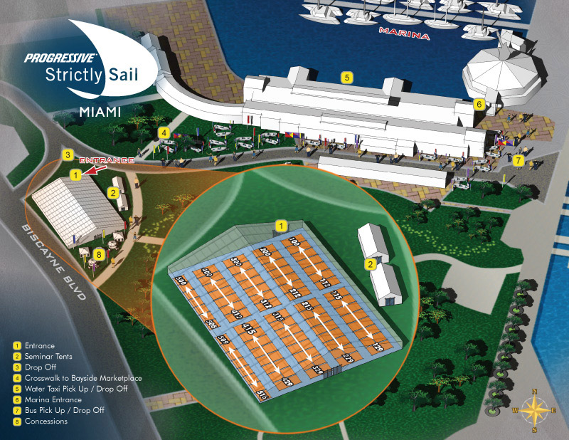 Bayfront Park Map