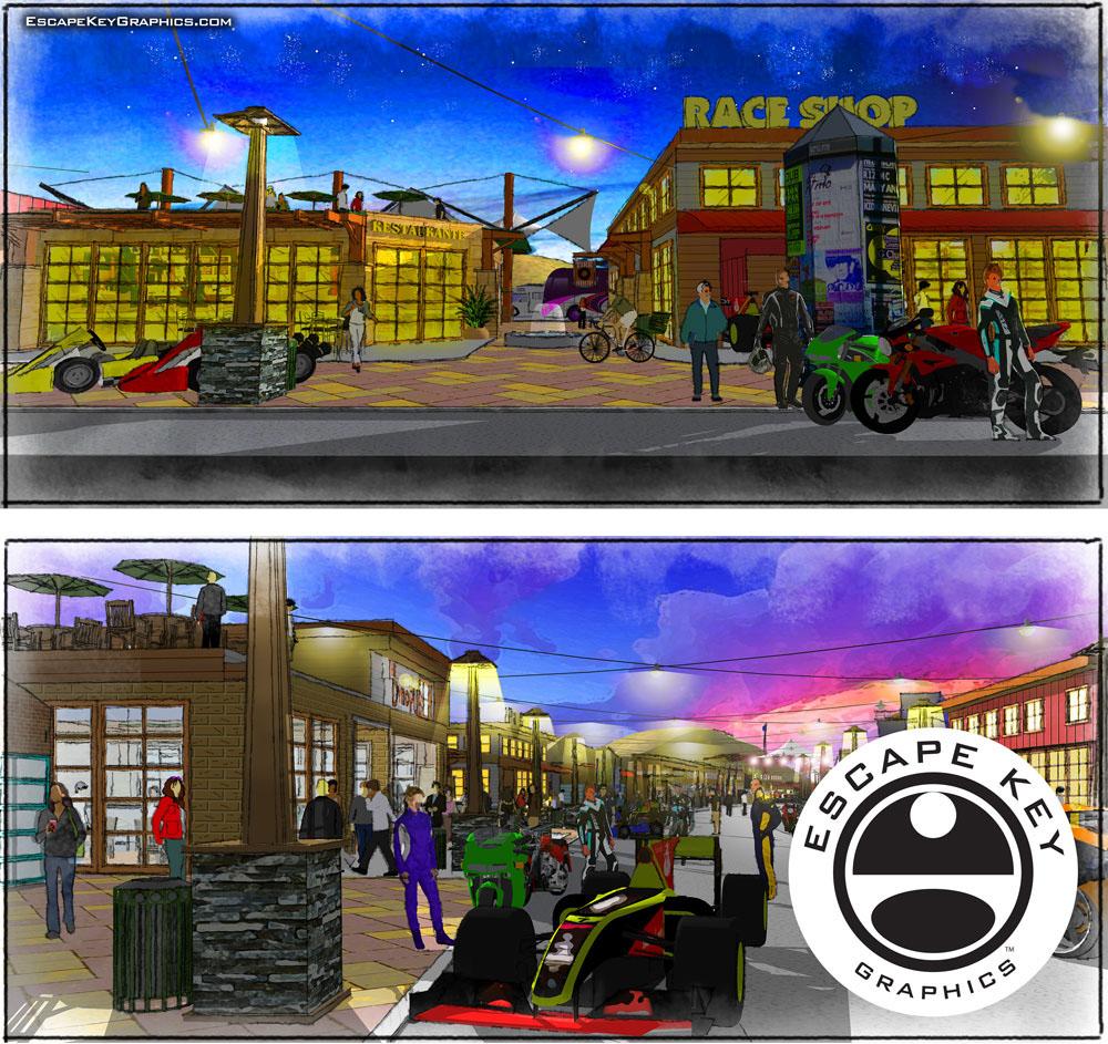 Urban Planning Renderings