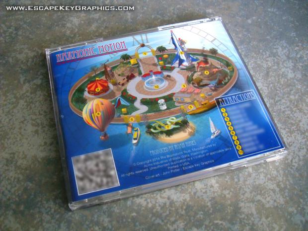 CD back illustration