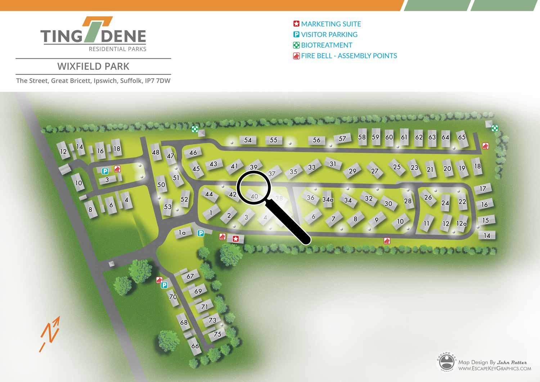 real estate map