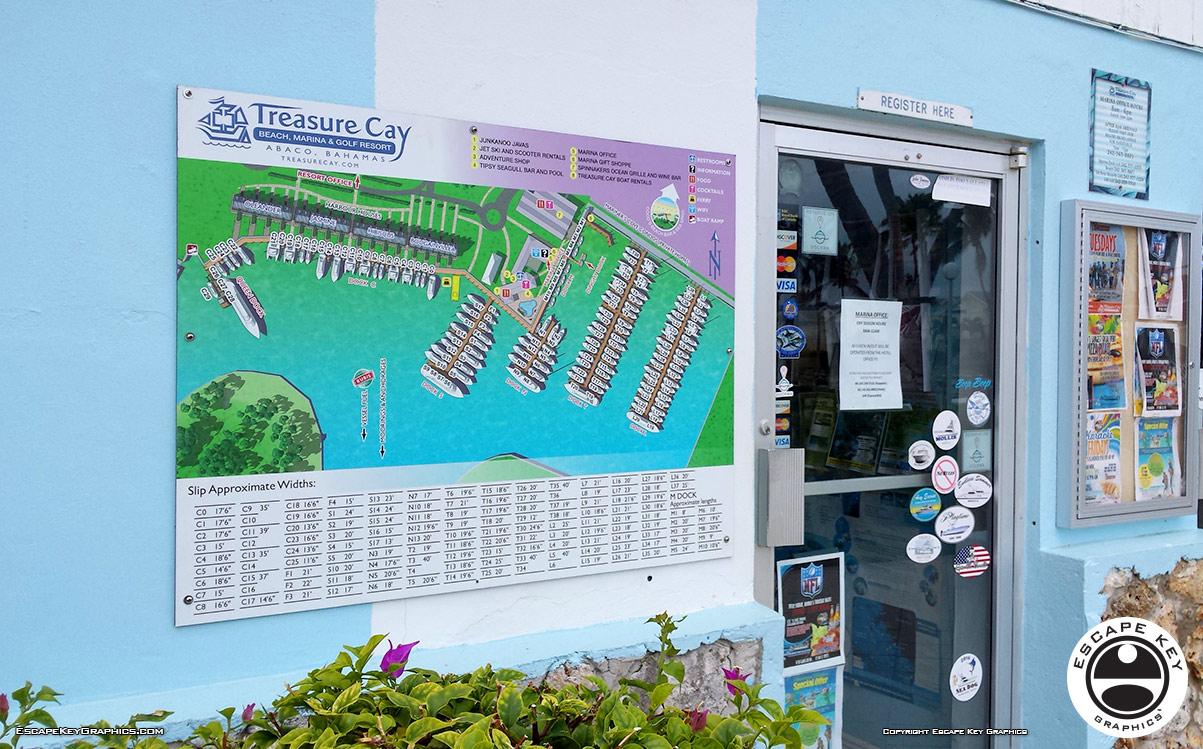 Resort Marina Map