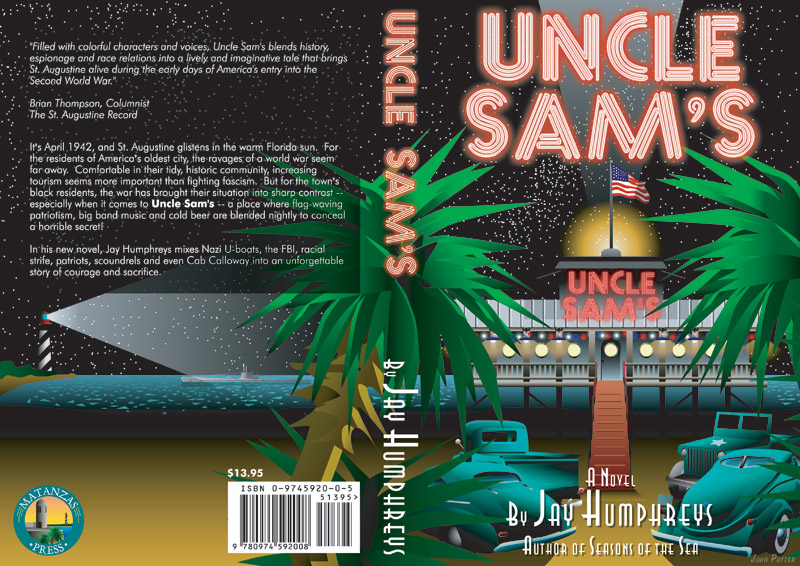 Uncle Sam's book cover illustration